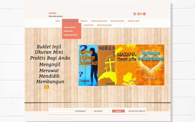 Yasperin | Portofolio Pembuatan Website Buatweb Agency